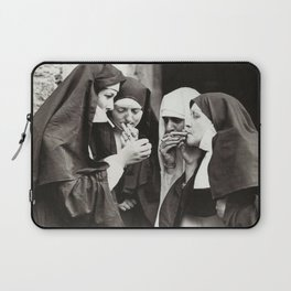 Nuns Smoking Laptop Sleeve