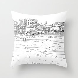 Broadstairs, England Throw Pillow