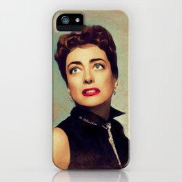 Joan Crawford, Hollywood Legend iPhone Case