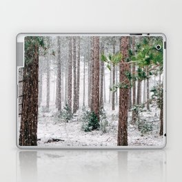 Snowy Pine trees Laptop & iPad Skin