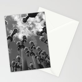 Lamp Posts Stationery Cards
