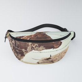 Texas Longhorn Cattle Fanny Pack