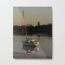 Alresford Creek, Essex Metal Print