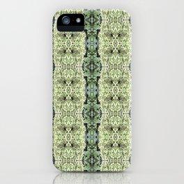 Green Hydrangea and Hosta Pattern 569 iPhone Case