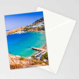 Lindos, Rhodes - Greece Stationery Cards
