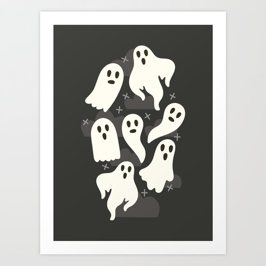 Ghosts by allisonromerodesign