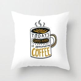 Coffee mug Throw Pillow