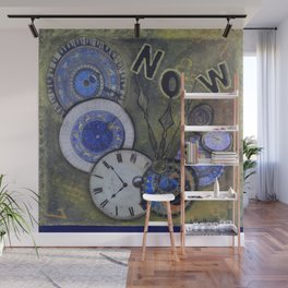 The Time is Always Now (or 11:11) Wall Mural