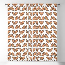 Watercolor Monarch Butterfly Blackout Curtain