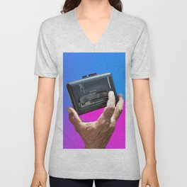 Press play Unisex V-Neck