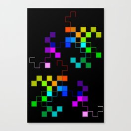 squares and squares again Canvas Print