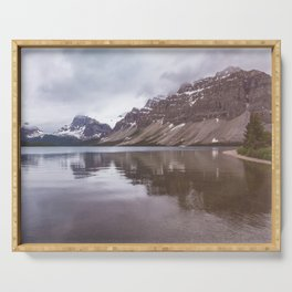 Bow Lake Overcast Serving Tray