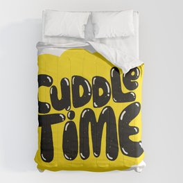 cuddle time Comforters