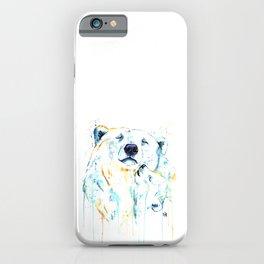 Polar Bear Unconditional Love iPhone Case