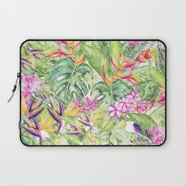 Tropical Garden 1A #society6 Laptop Sleeve