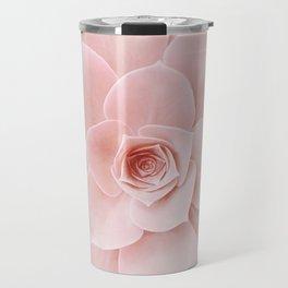 Blush Succulent Travel Mug