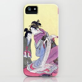 Geisha in Training iPhone Case