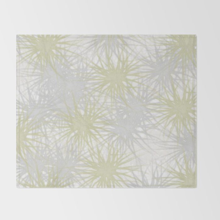 Silver or Gold Throw Blanket