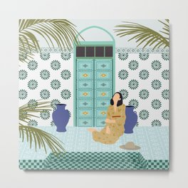 Moroccan Dreams  Metal Print