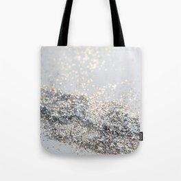 Silver Gray Glitter #2 #shiny #decor #art #society6 Tote Bag