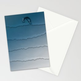 Parakite Cool 1 (wavy lines) Stationery Cards