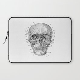 Anatomical Skull Laptop Sleeve
