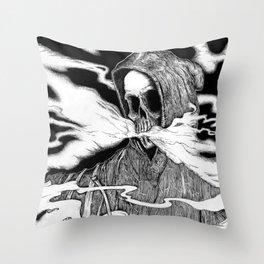 BongReaper Throw Pillow