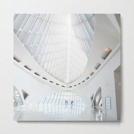 Milwaukee Art Museum by Santiago Calatrava Interior Architecture Photography Art Print Metal Print