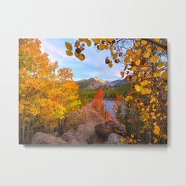 Fall In The Rocky Mountains Metal Print