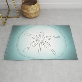 Sand Dollar Blessings - Pointilist Art Rug