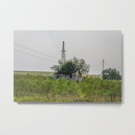 Abandoned Farm, North Dakota 2 Metal Print