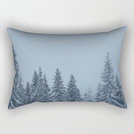 Tatra Mountains Winter Rectangular Pillow