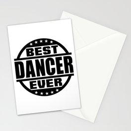 Best Dancer Ever Stationery Cards