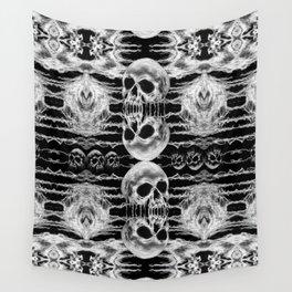 Freak Skull Pattern Wall Tapestry
