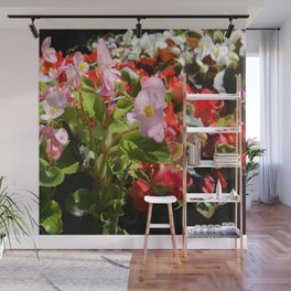 Bouquet of Begonias.... Wall Mural