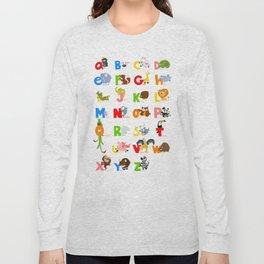 ABC (english) Long Sleeve T-shirt