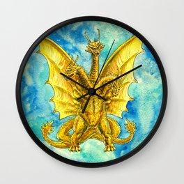 King Ghidorah : Triple Threat Wall Clock