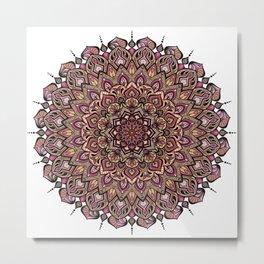 Mandala Innocenza Metal Print