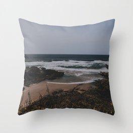 Oregon Coast II Throw Pillow
