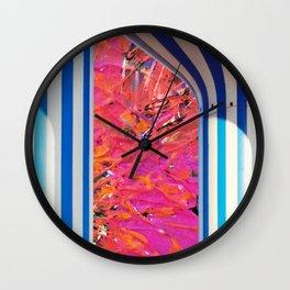 Colourful Kuwait Wall Clock