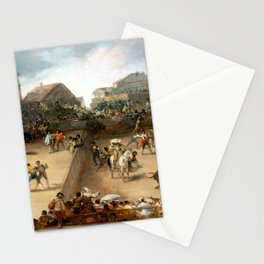 Goya Bullfight in a Divided Ring Stationery Cards
