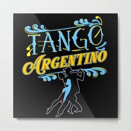 Tango, Bachata, Cuba, Metal Print