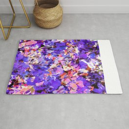 Plums and Peaches Rug