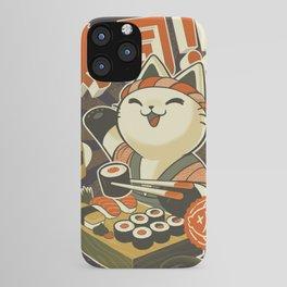Cat Sushi iPhone Case