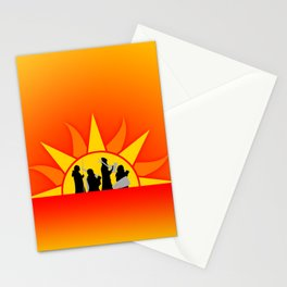 The Marching Dawn Stationery Cards