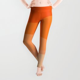 Creamsicle Dream - Abstract Leggings