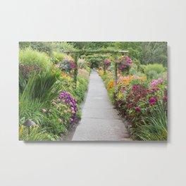 Floral Abundance Metal Print