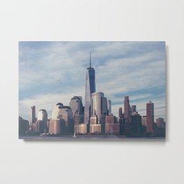 New York 08 Metal Print
