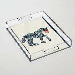 Iron Horse Acrylic Tray