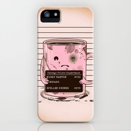Mugshot iPhone Case